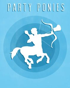 I think Leo and the Party Ponies would get along well... Maybe... but I kind of want this as a poster.