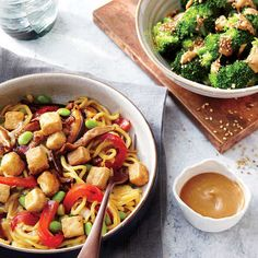 Tofu and Vegetable Lo Mein - Dinner Tonight: Vegetarian | Cooking Light