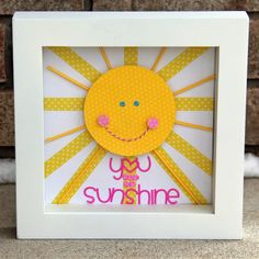 Doodlebug Design Inc Blog: Sunshine Shadow Box Tutorial by Jodi