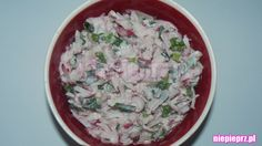 Surówka z rzodkiewki Grains, Rice, Food, Essen, Meals, Seeds, Yemek, Laughter, Jim Rice