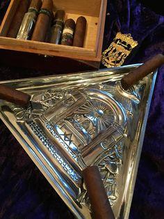 "The Masters Craft » The ""Crucible"" Pewter Masonic Cigar Ashtray"