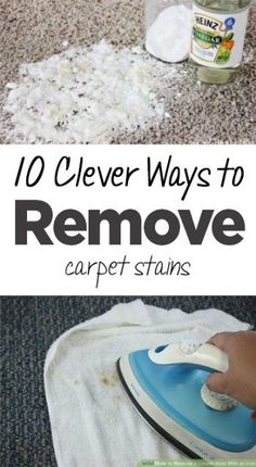 Carpet stains, get rid of carpet stains, clean carpets, popular pin, home improvement, clean home, clean carpets, carpeting, DIY cleaning, cleaning hacks. #homecleaninghacks