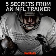 Train like an #NFL pro.  http://www.menshealth.com/fitness/5-secrets-nfl-trainer?cid=soc_pinterest_content-fitness_sept14_secretsfromnfltrainer