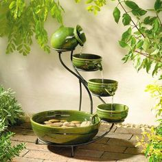 The #sound of #water immediately brings a sense of #zen to your #home.