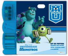 Kit Pintura Monstros University