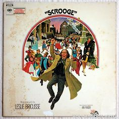 Soundtrack to the Charles Dickens film adaptation of A Christmas Carol, with Albert Finney as Scrooge.