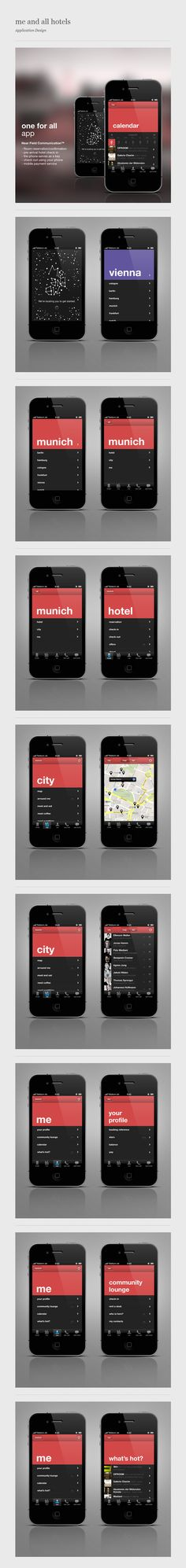 me and all hotels - iPhone App / Conny Naumann