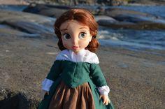 Belle wearing Merida's 1800th century linen dress. The photo is taken in beautiful Kallo, Pori (West Coast of Finland).