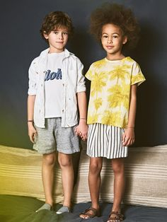 Hartford Spring/Summer 17 collection  Available on Smallable: http://en.smallable.com/hartford  Boys. Girls. Toddlers. Childrenswear. Fashion. Summer. Outfits. Clothes. Smallable