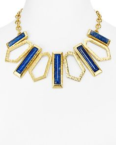 Stephanie Kantis Stone Collar Necklace, 16