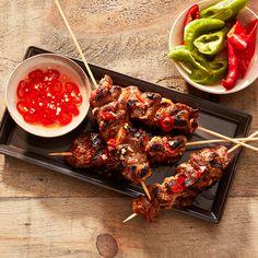 5 Easy Pork Marinade Recipes Perfect For Barbecue Season Pork Marinade Recipes, Grilling Recipes, Pork Recipes, Cooking Recipes, Pork Kabob Marinade, Chicken Marinades, Bbq Pork, Pork Ribs, Barbecue