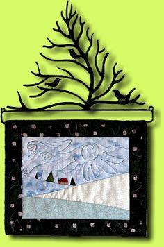 enclosed quilt rack
