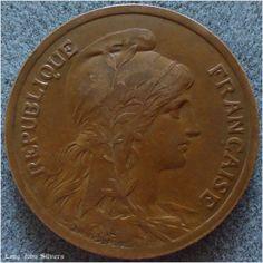 1917 France 10 centimes Coin Bronze on eBid United Kingdom