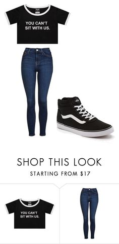 """""""Untitled #258"""" by cruciangyul on Polyvore featuring Topshop and Vans"""