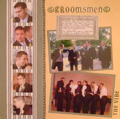 Groomsmen - Scrapbook.com