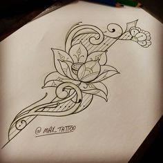 Disponível para tatuar!! Obrigado a todos que curtem!!!!