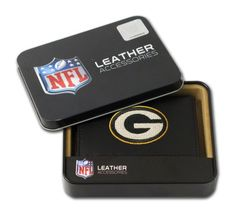 NFL Green Bay Packers Embroidered Genuine Cowhide Leather Trifold Wallet * Want to know more, click on the image.