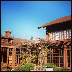 North Gate Hall at University of California, Berkeley, CA USA