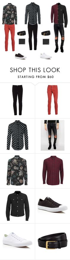 """""""Estilo Criativo"""" by giovana-stecanella on Polyvore featuring Gucci, Dsquared2, Yves Saint Laurent, ASOS, Versus, Religion Clothing, Converse, Tom Ford, Dunhill e men's fashion"""