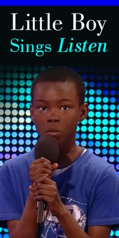 Britain's Got Talent - Little Boy Sings Listen