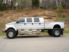 Custom Ford F650 - just needs a camo paint job