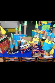Castle making :) Traditional Tales, Traditional Stories, Fairy Tale Theme, Fairy Tales, Castles Topic, Castle Project, Early Years Classroom, Eyfs Activities, Dragon Tales