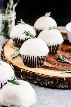 Chocolate Cupcakes with Rosemary Buttercream — The Whole Bite