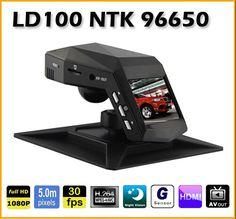 Full HD 1080P car dvr camera 5MP 120 Degrees Lens Novatek 96650 Car DVR Camera Video Recorder Night vision Black box
