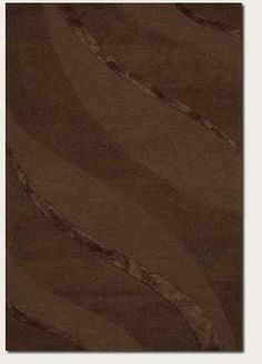RugStudio presents Couristan Anthians 8181-5050 Chocolate Hand-Tufted, Better Quality Area Rug