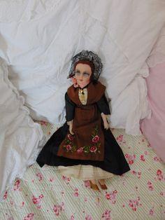 Vintage Puppen - Boudoir doll - ein Designerstück von Montiem bei DaWanda