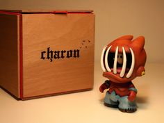 "SpankyStokes.com   Vinyl Toys, Art, Culture, & Everything Inbetween: ""Charon"" custom Foomi by Planet Domu"