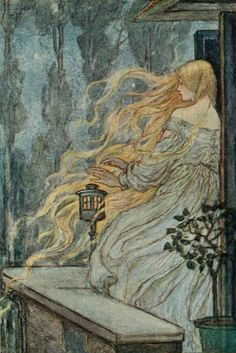 """""""Early Poems of William Morris"""" ~ Illustrations by Florence Harrison, 1914"""