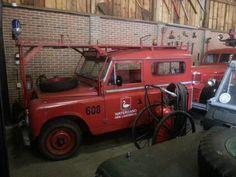 Hij is nog steeds te zien bij Brandweer museum: Wouwse plantage