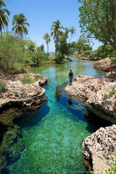 Photo courtesy of Sweet Sweet Jamaica:- Welcome to Gutts River, one of Jamaica's hidden treasures,such a beautiful place. Welcome to Jamaica . I remember Gutts River as a child growing up in Jamaica Vacation Places, Vacation Destinations, Dream Vacations, Vacation Spots, Places To Travel, Places To See, Holiday Destinations, Romantic Vacations, Italy Vacation