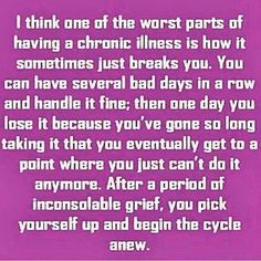 Living with chronic pain quote