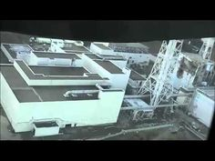 Fukushima nuclear plant - Two Flyovers shot in high definition