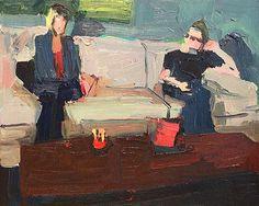 jennifer pochinski Xmas 2013, 2015   Oil on canvas   16 x 20 inches