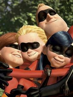 Yesterday, news broke that Brad Bird and Pixar will develop a sequel to the beloved Pixar superhero/super family movie; The Incredibles. Despite its popularity and genuine heart, this Pixar film ne… Disney Pixar, Walt Disney, Disney Amor, Disney And Dreamworks, Disney Magic, Disney Family, Disney Icons, Disney Characters, Animation 3d