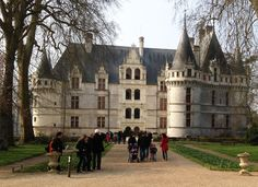 Azay-le-Rideau in the Loire Valley