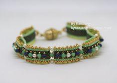 Tutorial : Carrie - Carrier beads bracelet