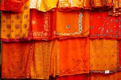Silk trade in Varanasi