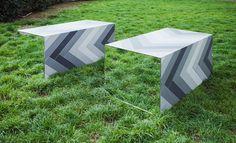 Capital Designer Studio mirrored tile installation #ClerkenwellDesignWeek #surface