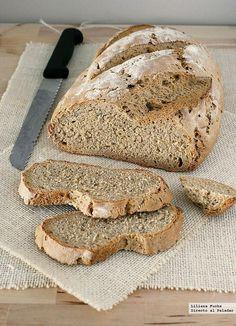 Receta de pan de centeno fácil.