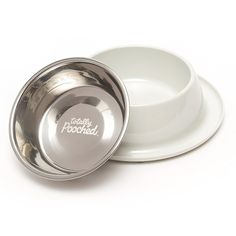 Totally Pooched Stainless Steel Single Diner with Non-Slip Melamine Base >>> Details can be found by clicking on the image. (This is an affiliate link and I receive a commission for the sales) #Pets