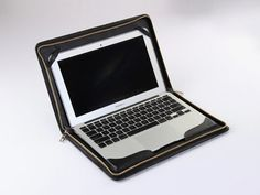 13 in Macbook Air Leather Case Mac Air Cover for Apple Laptop Carrying | theleathers - Bags & Purses on ArtFire