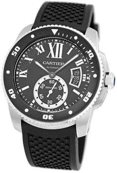 Buy new watches and certified pre-owned watches in excellent condition at Truefacet. Shop Rolex, Hublot, Patek & more luxury watch brands, authentication guaran Luxury Watch Brands, Luxury Watches For Men, Cartier Calibre, Thing 1, Pre Owned Watches, 30, Roman, Jewelry Design, Stainless Steel