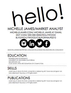 Resume And Cover Letter Word Doc Ready Easy To Customize Flowers