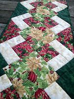 The Recipe Bunny: Christmas Table Runner and Tutorial ... love this