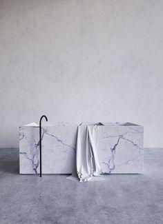 marble bathtub, Jon W Benedict