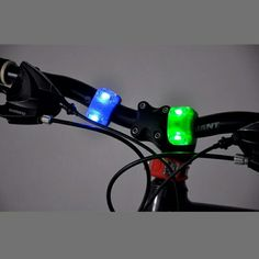 Bicycle lights Color : Red , Blue Material : silicon, led Price : 7 TL